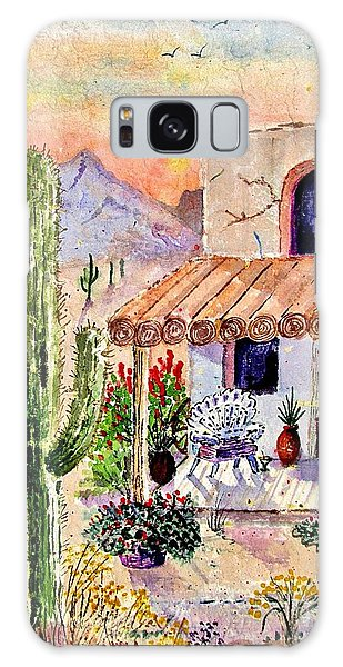 Wall Paper Galaxy Case - A Place Of My Own by Marilyn Smith