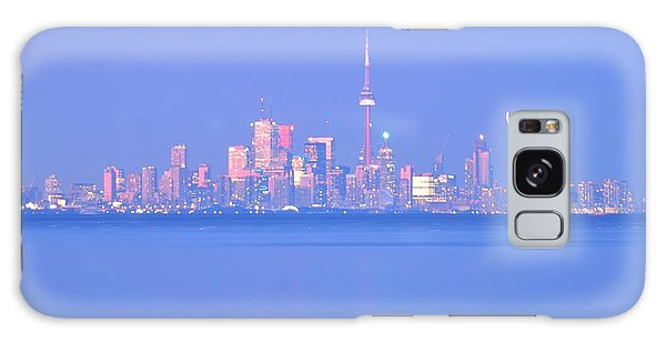 A Plan Overcast The City Sky Line  Galaxy Case