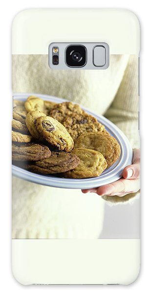 A Plate Of Cookies Galaxy Case