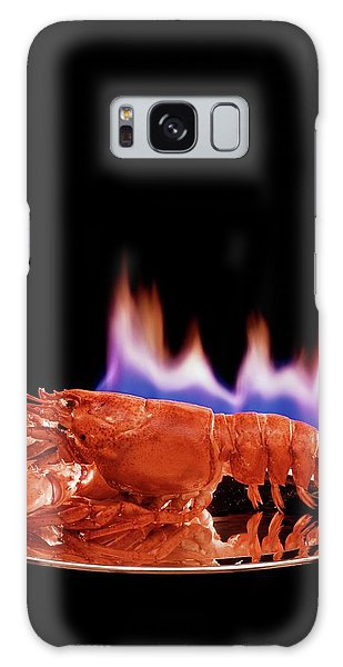 A Plate Of Lobster Flambe Galaxy Case