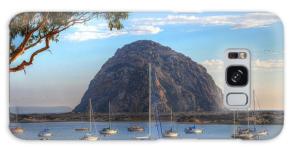 A Pleasant Day In Morro Bay Galaxy Case