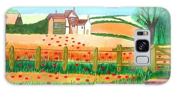 A Poppy Field Galaxy Case