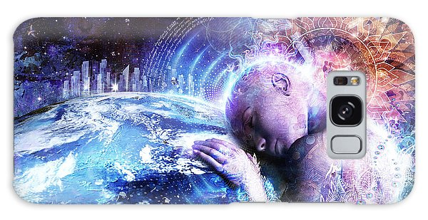 Planets Galaxy Case - A Prayer For The Earth by Cameron Gray