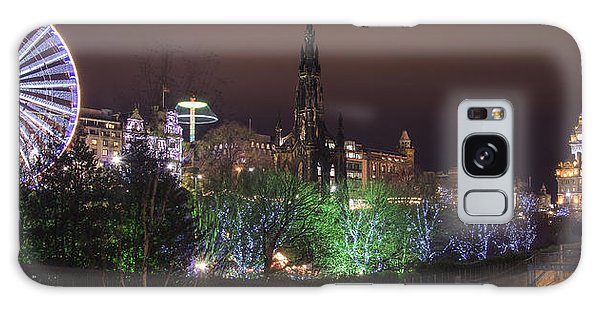 A Princes Street Gardens Christmas Galaxy Case