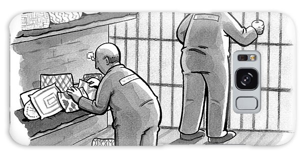 A Prisoner Says To His Cellmate Galaxy Case