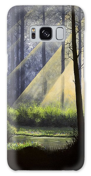 A Quiet Place Galaxy Case