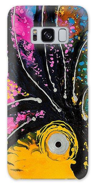 Parrot Galaxy S8 Case - A Rare Bird - Tropical Parrot Art By Sharon Cummings by Sharon Cummings