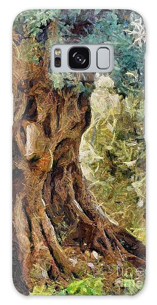 A Really Old Olive Tree Galaxy Case by Dragica  Micki Fortuna