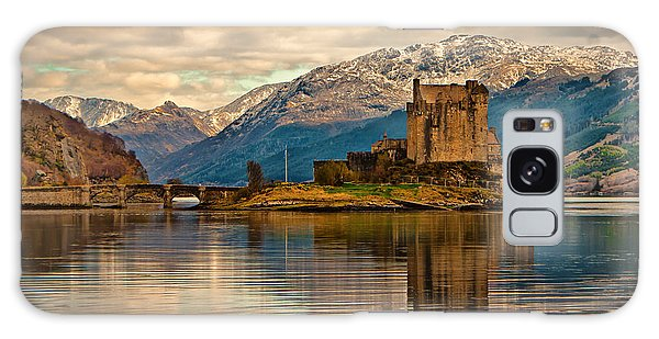 A Reflection At Eilean Donan Castle Galaxy Case