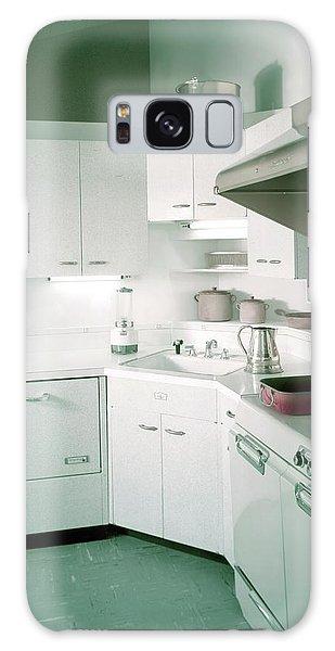 A Retro Kitchen Galaxy Case