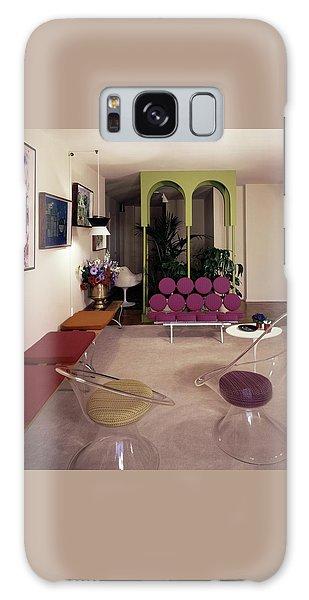 A Retro Living Room Galaxy Case