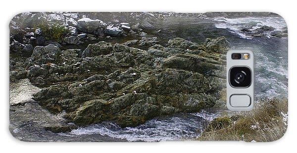 A River Runs Through It Galaxy Case by Sherri Meyer