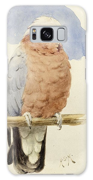 Cockatoo Galaxy S8 Case - A Rose Breasted Cockatoo by Henry Stacey Marks