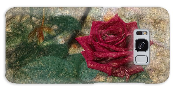 A Rose Is A Rose Is A Galaxy Case by Terry Cork