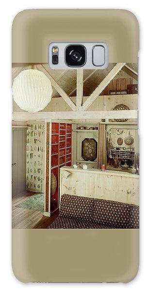A Rustic Kitchen Galaxy Case