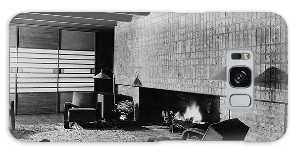 A Rustic Living Room Galaxy Case