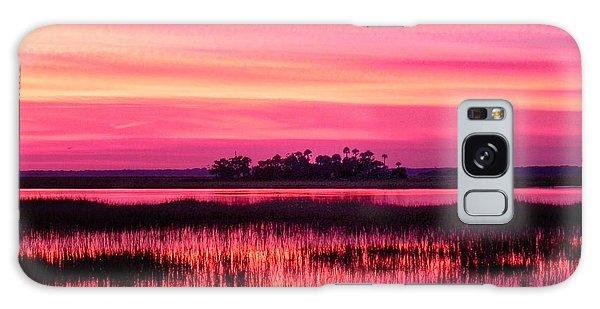 A Saint Helena Island Sunset Galaxy Case