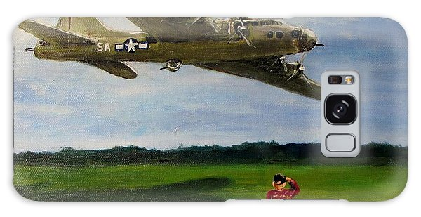 A Salute To The Greatest Generation Galaxy Case by Jack Skinner
