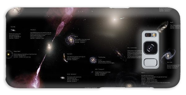 A Selection Of Galaxies Shown Galaxy Case