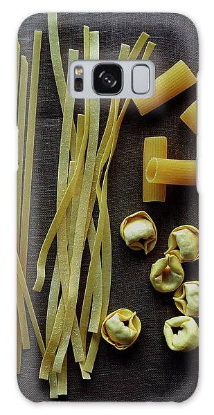 A Selection Of Uncooked Pasta Galaxy Case
