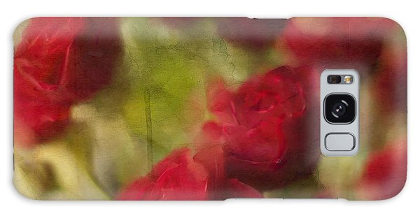 A Shower Of Roses Galaxy Case by Colleen Taylor