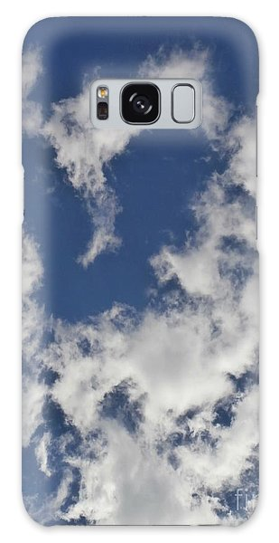A Sign From Above.....love Galaxy Case by Eunice Miller