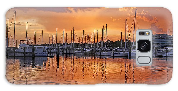 A Sky Full Of Wonder - Florida Sunset Galaxy Case by HH Photography of Florida