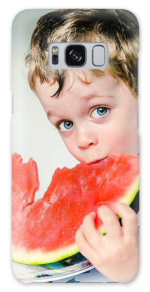 Watermelon Galaxy S8 Case - A Slice Of Life by Marco Oliveira