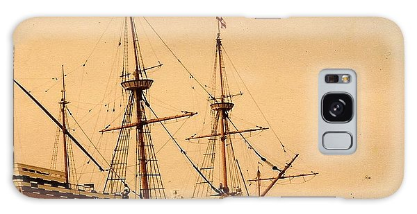 A Small Old Clipper Ship Galaxy Case by Amazing Photographs AKA Christian Wilson
