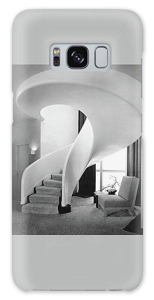A Spiral Staircase Galaxy Case