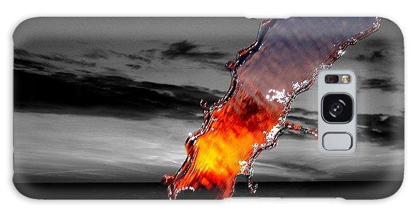 A Splash Of Color Galaxy Case