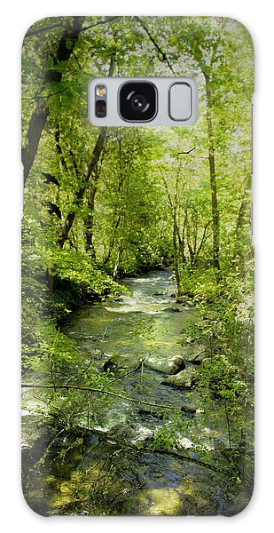 A Spring Day At Lithia Creek Galaxy Case by Diane Schuster