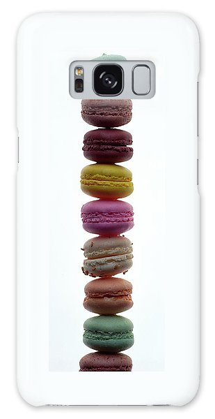 A Stack Of Macaroons Galaxy Case