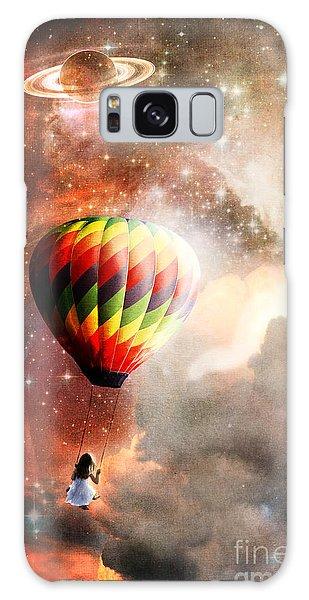 A Starry Ride Galaxy Case by Stephanie Frey