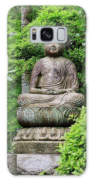 Kansai Galaxy Case - A Stone Buddha Statue In The Grounds by Paul Dymond