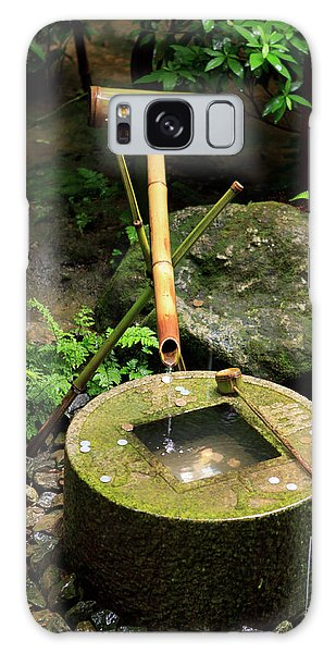 Kansai Galaxy Case - A Stone Water Basin In The Grounds by Paul Dymond