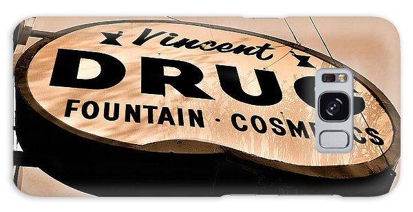 A Store For Everyone - Vintage Pharmacy Sign Galaxy Case