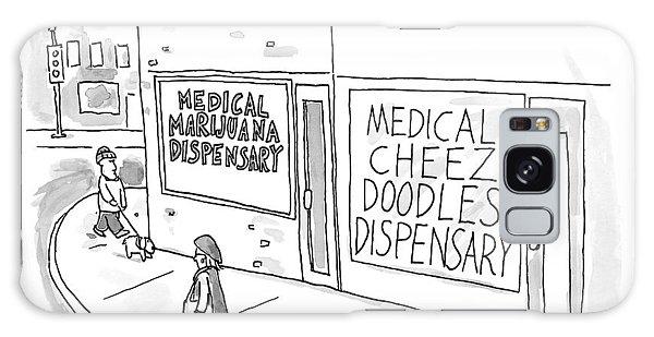 A Storefront Medical Marijuana Dispensary Galaxy Case