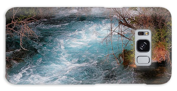 A Stream In Blue Galaxy Case