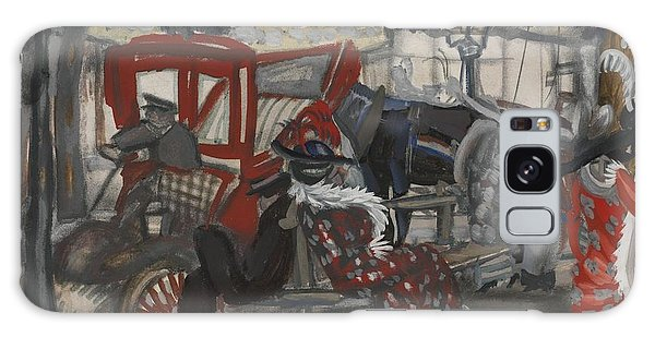 Russian Impressionism Galaxy Case - A Street In Paris by Celestial Images