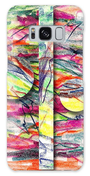 Impressionistic Galaxy Case - A Summers Day Breeze by Peter Piatt