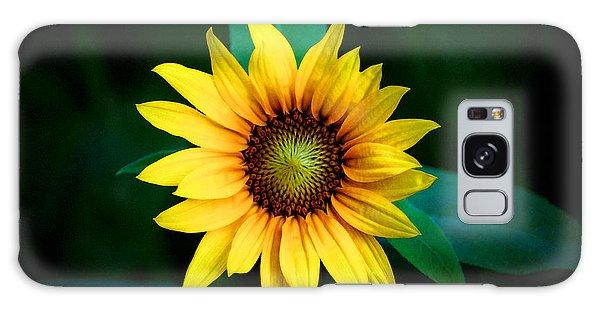 A Sunflower Named Stella Galaxy Case by Gwyn Newcombe