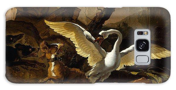 A Swan Enraged By Hondius Galaxy Case