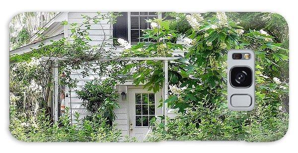 A Swell Side Entrance With Oakleaf Hydrangea Galaxy Case