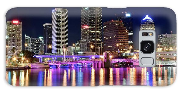 A Tampa Bay Night Galaxy Case by Frozen in Time Fine Art Photography