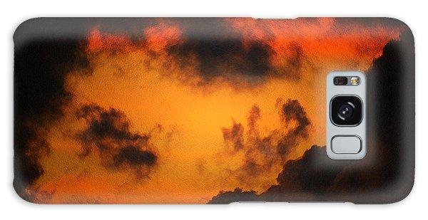 A Textured Morning Galaxy Case