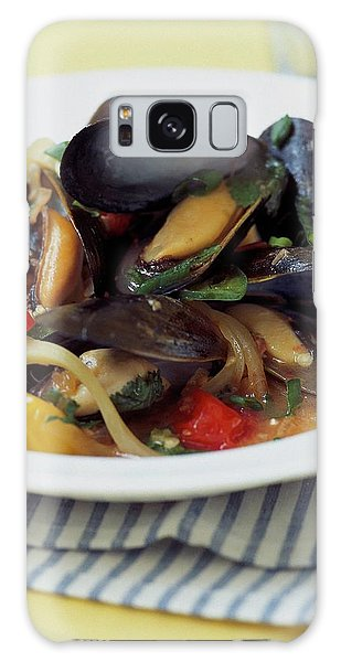A Thai Dish Of Mussels And Papaya Galaxy Case