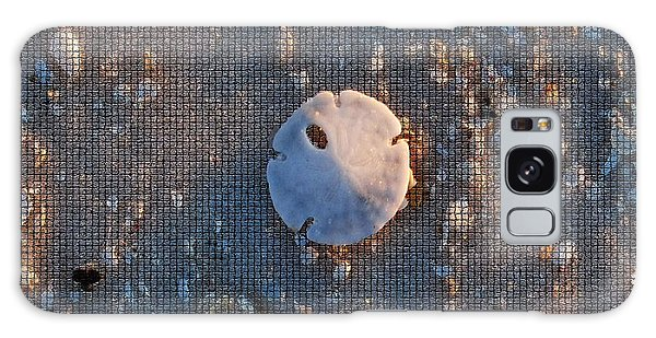 A Tiny Sand Dollar Galaxy Case by Michele Kaiser