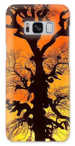 A Tree Is An Object Of Beauty Xii Galaxy Case by Bijan Pirnia