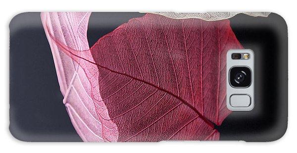 Leaf Galaxy Case - A Trinity Of Leaves by Maggie Terlecki